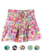 Falda Shorts de Algodón Niña x 4 unds. Tallas : 12 - 14