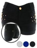 Shorts Elásticado x4 unds. Tallas : M - L - XL