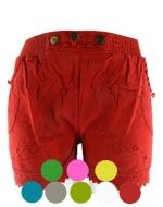 Shorts de Bambula c/Botones x 4 unds. Tallas : Standar