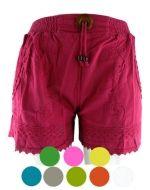 Shorts de Bambula c/Broche x 4 unds. Tallas : Standar